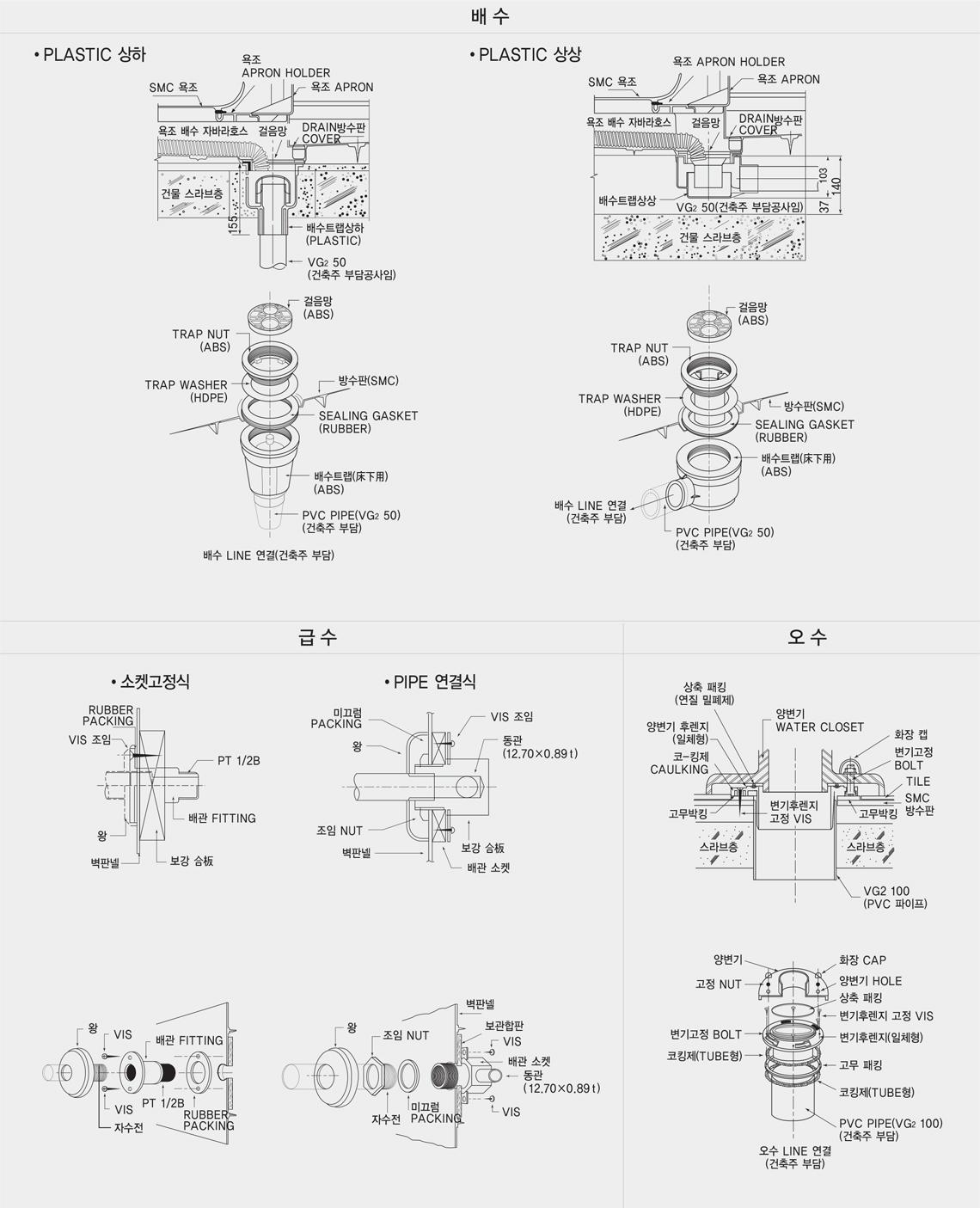 기본배관 System/Basic Plumbing